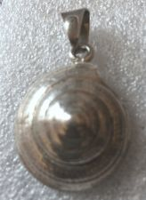 Buy Vintage Taxco Mexico Sterling Snail Shell Pendant Conical Pinwheel Signed TN-49