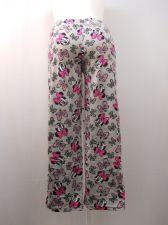 Buy Disney Minnie Woman's Pajama Pants Size M Micro Fleece Sleepwear Straight Legs