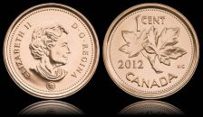 Buy Gem Unc Canada 2012 Cent~The Last Cent Canada Ever Made~Free Shipping