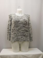 Buy No Boundaries Sweater Juniors Size XL Popcorn Chenille Long Sleeves Pullover