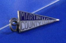 Buy MARTIN COUNTY HIGH SCHOOL Kinney Sterling Silver & Enamel Charm