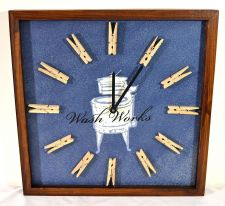 Buy Wash Works Wall Clock