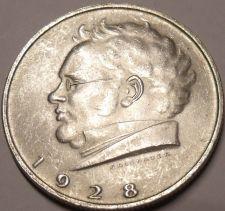Buy Unc Silver Austria 1928 2 Schilling~Death Of Franz Schubert~Free Shipping
