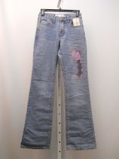 Buy Milano Moda Embellished Stonewashed Boot Cut Legs 26X33 Women's Jeans Size 4