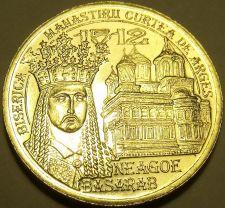 Buy Gem Unc Romania 2012 50 Bani~Incredible Details~Neagoe Basarab~Free Shipping~