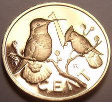 Buy Cameo Proof British Virgin Islands 1973 Cent~1st Year~Hummingbird~Free Shipping