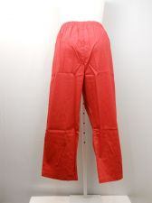 Buy PLUS SIZE 26WP Womens Casual Pants AMERICAN SWEETHEART Solid Red Inseam 28