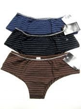 Buy A190H Rampage Intimate NEW Silver Thread Waistband All Stretch Cotton Hipster PR