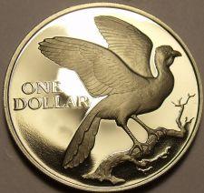 Buy Rare Proof Trinidad & Tobago 1977 Dollar~Only 5,337 Made~Fantastic~Free Shipping