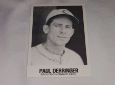Buy VINTAGE PAUL DERRINGER REDS 1977 TCMA BASEBALL GD-VG