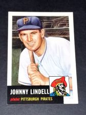 Buy MLB 1991 Topps Archives 1953 Reprint #230 Johnny Lindell INSERT GD-VG