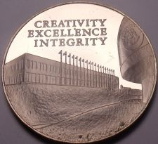 Buy Massive Bronze Proof Franklin Mint 10th Anniversary Medallion~1974~Free Shipping
