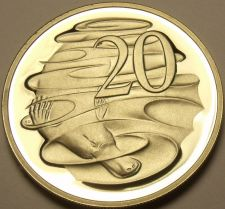 Buy Cameo Proof Australia 1989 20 Cents~Only 67,000 Minted~Duckbill Platypus~Fr/Ship