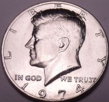 Buy United States Unc 1974-P Kennedy Half Dollar~Free Shipping