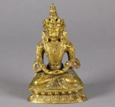 Buy FINE 18TH-19TH CENTURY CHINESE GILT BRONZE FIGURE OF AMITAYUS/AMIDA BUDDHA
