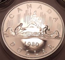 Buy Proof Canada 1980 Voyageur Dollar~See Why Proofs Are Best Coins~Free Shipping