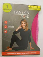 Buy Danskin Now Ladies Performance Baselayer Leggings Size L 12-14 Pink Tagless