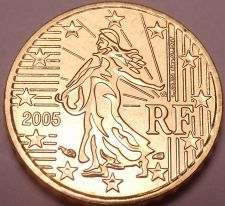 Buy Gem Brillaint Unc France 2005 10 Euro Cents~Excellent Design~Free Shipping