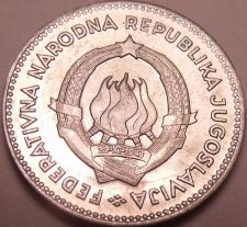Buy Rare Gem Brilliant Unc Yugoslavia 1953 50 Para~Free Shipping