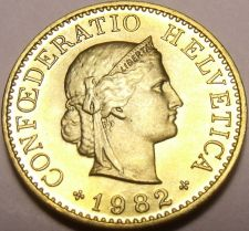 Buy Gem Unc Switzerland 1982-B 5 Rappen~Excellent Coin~Free Shipping