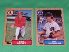 Buy VINTAGE 1987 TOPPS BASEBALL CARD LOT #2 GD-VG