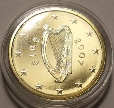 Buy RARE IRELAND 2007 ENCAPSULATED CAMEO PROOF 20 EURO CENTS~5K MINTED~FREE SHIPPING