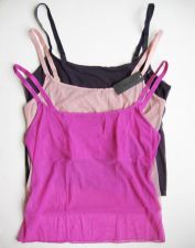 Buy A548 Natori NEW 141005 Solid Sheer Mesh with Build-In Shelf Camisole Tank Top PR