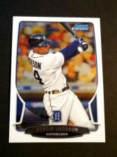 Buy MLB AUSTON JACKSON TIGERS SUPERSTAR 2013 BOWMAN CHROME #128 MNT