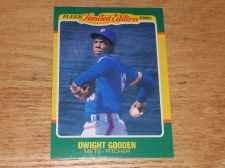 Buy VINTAGE Dwight Gooden New York Mets Superstar 1986 FLLER LIMITED EDITION GLOSSY