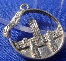 Buy vintage STERLING charm PARLIAMENT BUILDING CANADA
