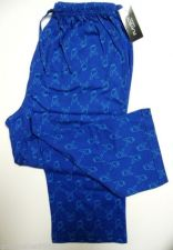 Buy XM003 Playboy Knit Signature Rabit Head Long Sleep Pant PPK625 Blue Small New