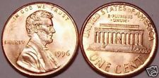 Buy 1996-P BRILLIANT UNCIRCULATED LINCOLN CENT~~FREE SHIP~~