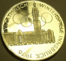 Buy Silver Proof Austria 1974 100 Schilling~Imperial Eagle~Olympics In Innsbruck~F/S
