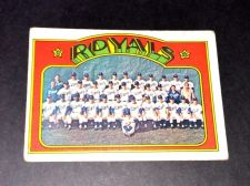 Buy VINTAGE 1972 TOPPS ROYALS TEAM CARD #617 GD-VG