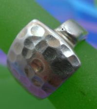 Buy sz 6.5 RING: sterling 925 silver Chunky Hammered SILKY smooth