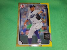 Buy MLB Matt Andres Tampa Bay Rays 2015 TOPPS YELLOW 1st Rookie BASEBALL MNT