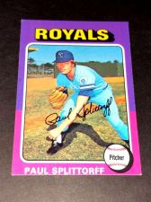 Buy VINTAGE PAUL SPLITOFF ROYALS 1975 TOPPS #340 GD-VG