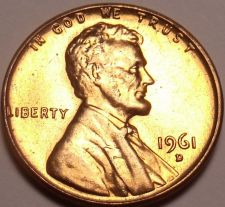 Buy United States Unc 1961-D Lincoln Memorial Cent~Free Shipping