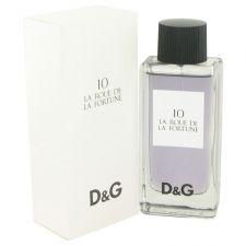 Buy La Roue De La Fortune 10 By Dolce & Gabbana Eau De Toilette Spray 3.3 Oz