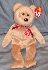 Buy RETRO ORIGINAL TY BEANIE BABY PLUSH 1999 SIGNATURE BEAR COLLECTIBLE NICE