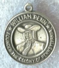 Buy vintage CHARM : WILLIAM PENN / FOUNDER THE COLONY OF PENNSYLVANIA
