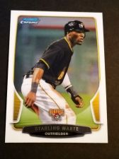 Buy MLB STARLING MARTE PIRATES SUPERSTAR 2013 BOWMAN CHROME #7 MNT