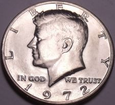Buy United States Unc 1972-P Kennedy Half Dollar~Free Shipping