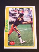 Buy VINTAGE GLEN WALKER 1978 TOPPS FOOTBALL GD-VG