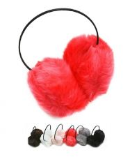 Buy Madison Avenue Winter Fashion Fuzzy Faux Fur Warm Ear Muffs Assorted Colors