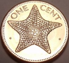 Buy Gem Unc 1998 Bahamas 1 Cent~Starfish Coin~We Have Bahama Coins In Stock~Free Shi