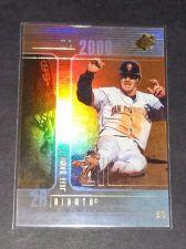 Buy MLB JEFF KENT GIANTS 2000 UPPER DECK SPX INSERT #39 GD-VG