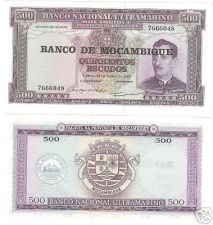 Buy HUGE UNC MOZAMBIQUE 500 ESCUDOS<BEAUTIFUL>FREE SHIPPING