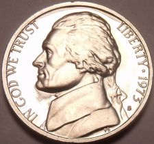 Buy 1973-S PROOF JEFFERSON NICKEL~SEE ALL R JEFFERSONS~FR/S