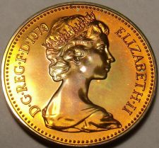 Buy Scarce Proof Great Britain 1979 Half Penny~Only 81,000 Minted~Free Shipping